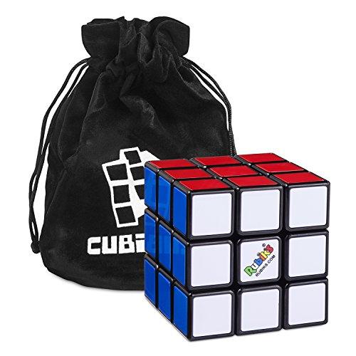 3 3 zauberw rfel verbesserte version inkl standfu und cubikon tasche original rubik s cube. Black Bedroom Furniture Sets. Home Design Ideas