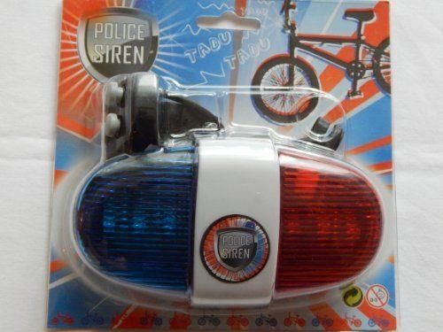 polizei fahrrad sirene mit licht beliebte spielzeuge. Black Bedroom Furniture Sets. Home Design Ideas