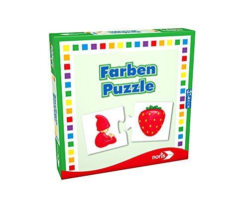 noris spiele 608985664 farben puzzle reise und. Black Bedroom Furniture Sets. Home Design Ideas