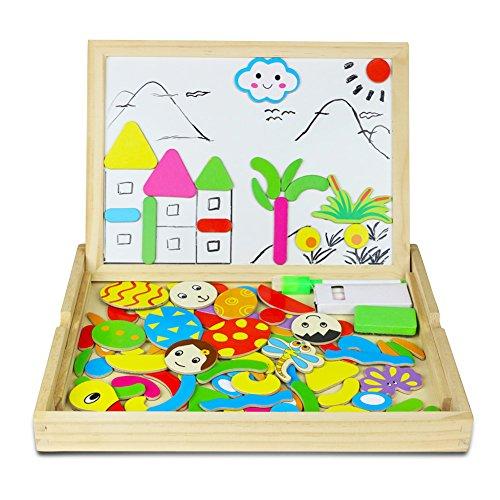 magnetisches holzpuzzle holzpuzzle baby lernspielzeug geschenk f r kinder jungen m dchen. Black Bedroom Furniture Sets. Home Design Ideas