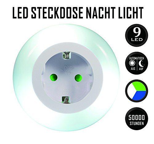 Nachtlicht Kinderzimmer Steckdose : emotionlite led steckdose nachtlicht mit d mmerungssensor ~ Watch28wear.com Haus und Dekorationen