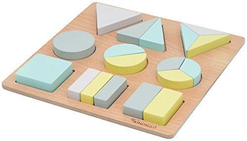 kindsgut holzpuzzle motorik spielzeug puzzle mit formen aus holz f r kinder lern spielzeug. Black Bedroom Furniture Sets. Home Design Ideas