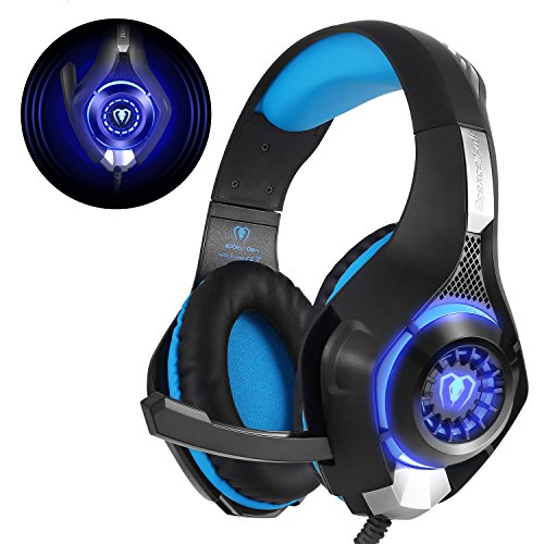 gaming headset f r ps4 pc xbox one beexcellent led licht. Black Bedroom Furniture Sets. Home Design Ideas