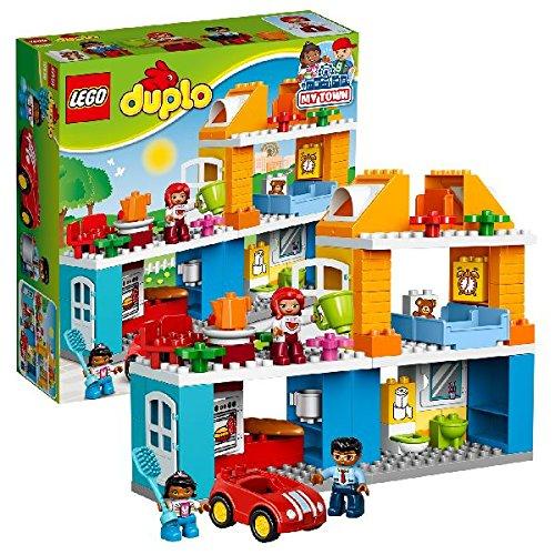 familienhaus kleinkind spielzeug ab 2 jahren lego duplo 10835 beliebte spielzeuge. Black Bedroom Furniture Sets. Home Design Ideas