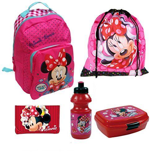 minnie maus kindergarten set rucksack turnbeutel. Black Bedroom Furniture Sets. Home Design Ideas