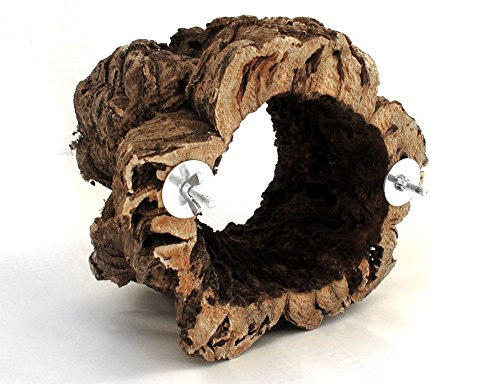 neu und nur hier kork ring zum sitzen knabbern klettern spielen f r alle v gel. Black Bedroom Furniture Sets. Home Design Ideas