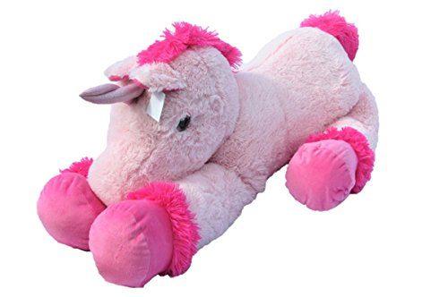 xxl einhorn pl schtier ca 110 cm gro e kuscheltier rosa pink stofftier beliebte spielzeuge. Black Bedroom Furniture Sets. Home Design Ideas