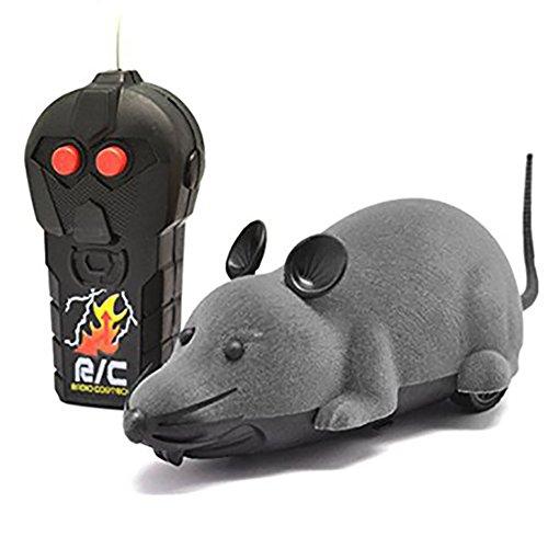 elektrische drahtlose fernbedienung rc ratte maus spielzeug haustier katzen spielzeug maus f r. Black Bedroom Furniture Sets. Home Design Ideas