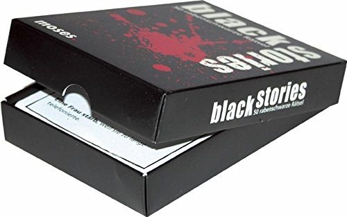 Black Stories Kartenspiel