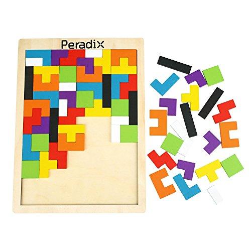 Peradix tangram holzpuzzles lernspielzeug intelligenz