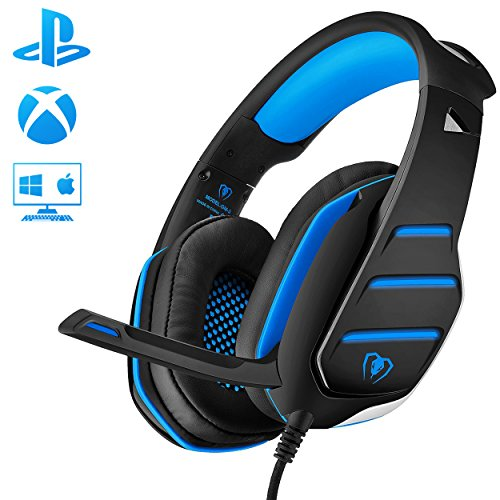gaming headset mit mikrofon f r pc ps4 xbox one. Black Bedroom Furniture Sets. Home Design Ideas