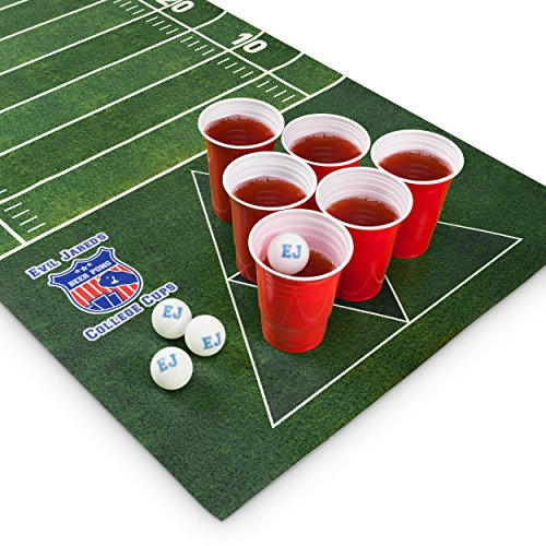 Evil jared s beer pong matte set 180 x 60 cm wasserfest for Beer pong tisch eigenes design