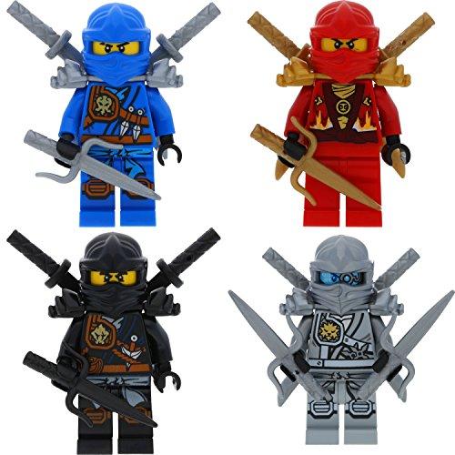 lego ninjago minifigur goldener ninja figur lloyd gold mit