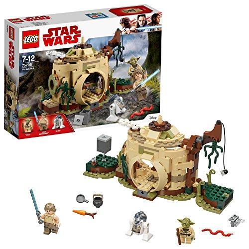 Lego star wars yodas hütte spielzeug