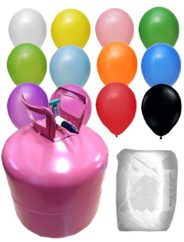 ballongas helium f r 50 ballons beliebte spielzeuge. Black Bedroom Furniture Sets. Home Design Ideas