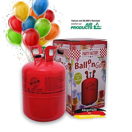 party factory ballongas helium f r 50 luftballons xxl set. Black Bedroom Furniture Sets. Home Design Ideas