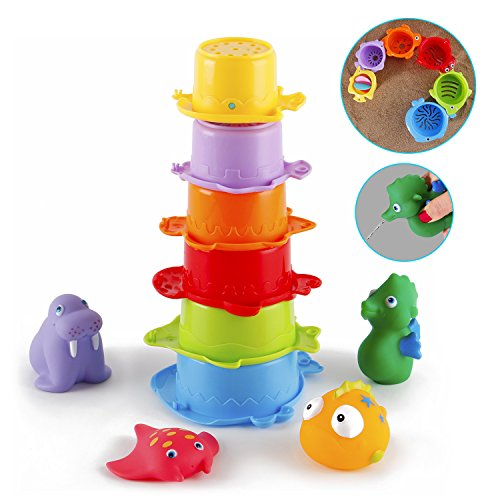 badespielzeug gutedeal badewannen spielzeug wasserspielzeug set mit verschiedenen badetiere. Black Bedroom Furniture Sets. Home Design Ideas