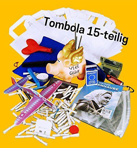 TOMBOLA - inkl. 100 Tombola Lose und 15 Scherztombola