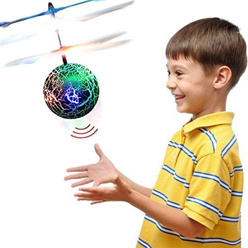 top geschenk geschenke f r 3 12 jahre alt rc flying ball hubschrauber spielzeug f r jungen. Black Bedroom Furniture Sets. Home Design Ideas