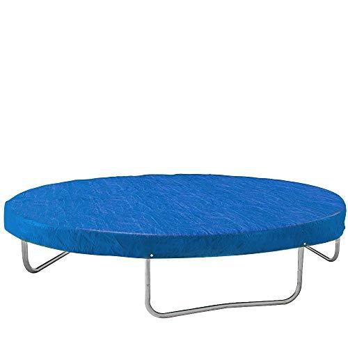 monzana abdeckung trampolin trampolinschutz abdeckplane regenschutz 305cm blau rei fest uv. Black Bedroom Furniture Sets. Home Design Ideas