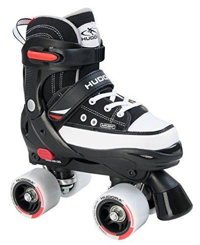 hudora rollschuhe roller skate kinder rollschuhe schwarz. Black Bedroom Furniture Sets. Home Design Ideas