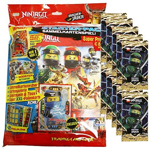 5 Booster=25 Karten Lego® Ninjago Serie 4 Multi-Pack LE18 Karte