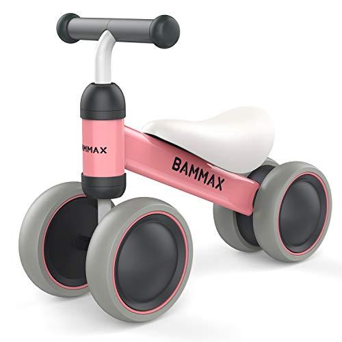 bammax kinder laufrad lauflernrad balance fahrrad ohne pedale dreirad spielzeug f r 1 jahr. Black Bedroom Furniture Sets. Home Design Ideas